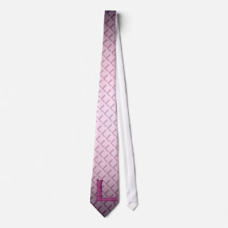 L - The Falck Alphabet (Pink ) Tie