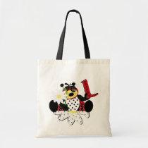 tote-bag, tote, bag, birthday, ladybug, women, shopping, Bag with custom graphic design