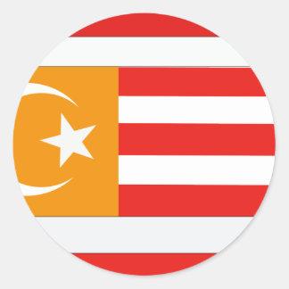 l Turquestan, Kazakstan Classic Round Sticker