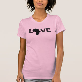 L-VE AFRICA BLACK WOMENS SHIRTS