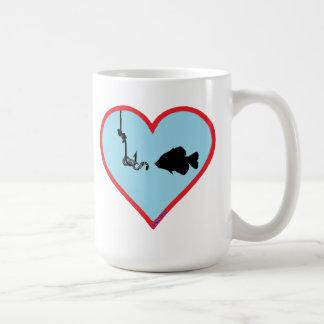 L♥v'n'it Fishing Classic White Coffee Mug