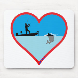L♥ v'n'it tournament fishing mouse pads