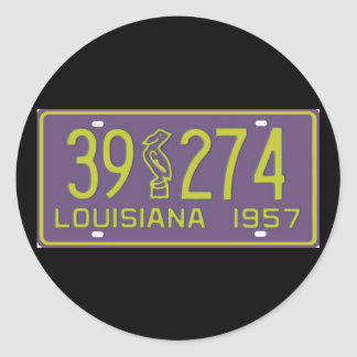 LA57 CLASSIC ROUND STICKER