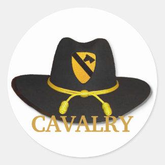 la 1ra caballería ventila al pegatina del remiendo
