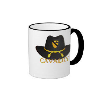 la 1ra caballería ventila la taza del remiendo de