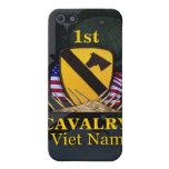 la 1ra división Vietnam de la caballería revisa el iPhone 5 Carcasa
