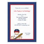 La 1ra fiesta de cumpleaños del béisbol rojo de lo