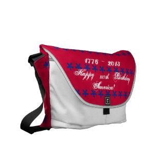 La 237a bolsa de mensajero feliz de América del cu Bolsa De Mensajería