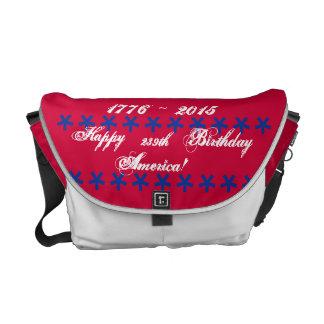 La 239a bolsa de mensajero feliz de América del Bolsas De Mensajeria