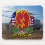 la 25ta guerra de Vietnam de la división de infant Alfombrillas De Ratón