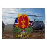 la 25ta guerra de Vietnam de la división de infant Tarjetas