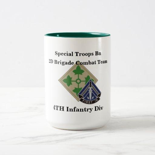 La 2.a infantería del BCT 4to del batallón especia Tazas