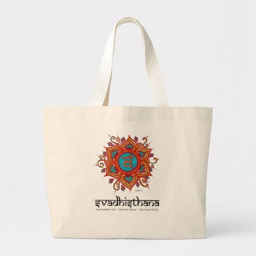 La 2da bolsa de asas de Chakra Svadisthana de la y