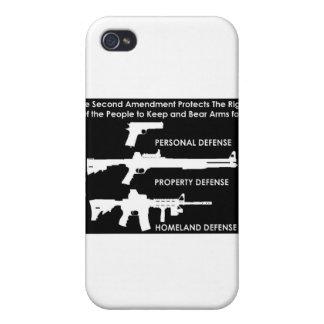 La 2da enmienda protege… iPhone 4 fundas