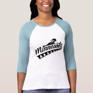 """La 3/4 camiseta de Minnesota de las mujeres """"lleva Playeras"""