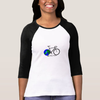 La 3/4 manga de las mujeres camisetas