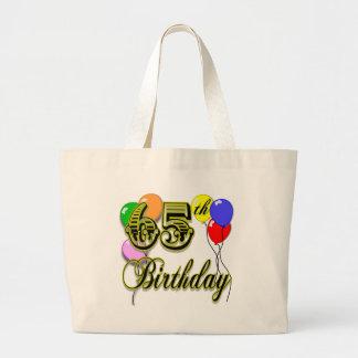 La 65.a bolsa de asas feliz del cumpleaños