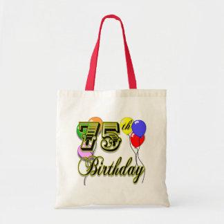 La 75.a bolsa de asas feliz de la celebración del