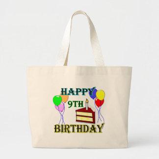 La 9na bolsa de asas feliz del cumpleaños