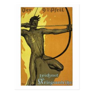 La 9na flecha, Primera Guerra Mundial austríaca Postal