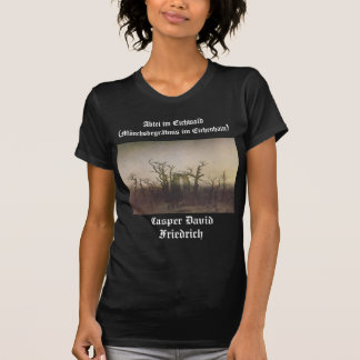 La abadía en la madera de roble camiseta
