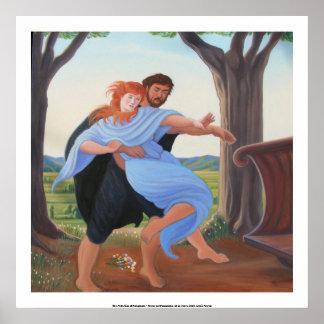 La abducción de Persephone Póster