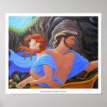 La abducción de Persephone Posters