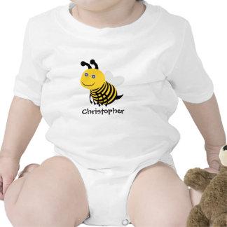 La abeja apenas añade nombre camisetas