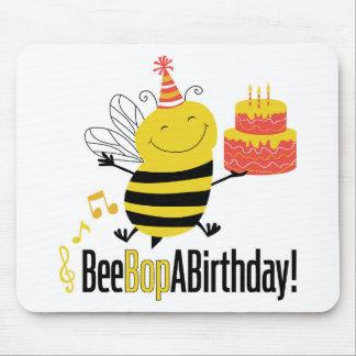 La abeja Bop un cumpleaños Tapete De Ratones