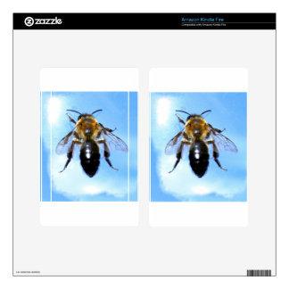 La abeja de la miel, los regalos de la fauna de la kindle fire pegatina skin