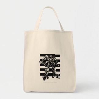 La abeja del abejorro raya 2 bolsa tela para la compra