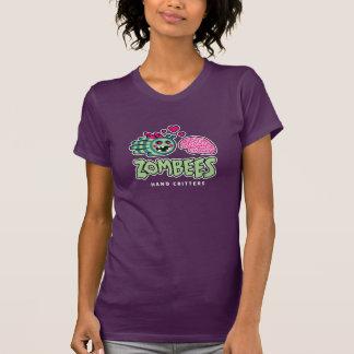 La abeja del zombi ama la camiseta del cerebro