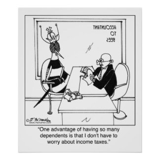 La abeja reina no paga ningún impuesto póster
