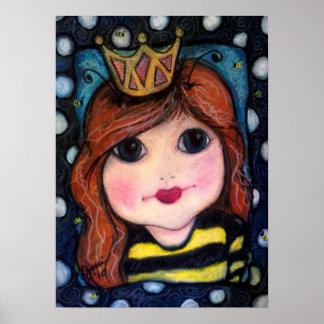 La abeja reina póster