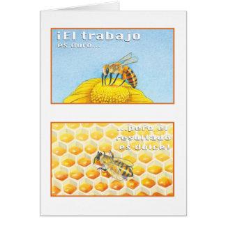 La Abeja, tarjeta Card