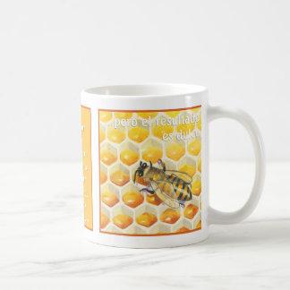 La abeja, taza de café coffee mug