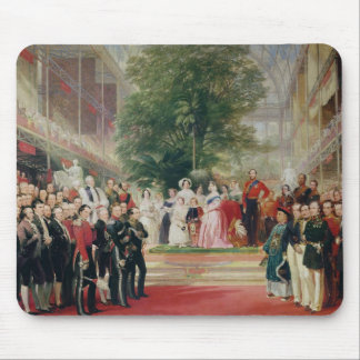 La abertura de la gran exposición, 1851-52 tapete de raton