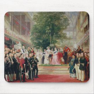 La abertura de la gran exposición, 1851-52 alfombrillas de raton