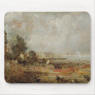 La abertura del puente de Waterloo, c.1829-31 (ace Mousepad