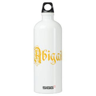 La Abigail conocida en vieja caligrafía hermosa de