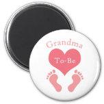 La abuela A-Es Imán Para Frigorifico