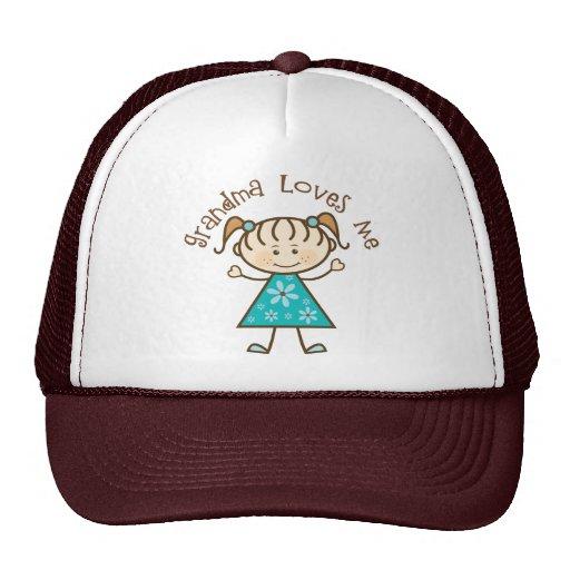 La abuela azul me ama gorras de camionero