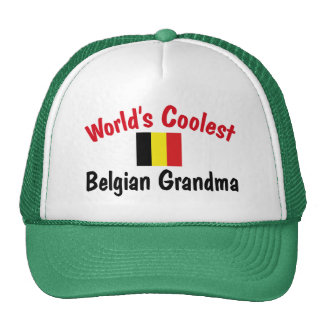 La abuela belga más fresca gorros