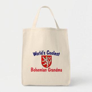 La abuela bohemia más fresca bolsa tela para la compra