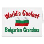 La abuela búlgara más fresca felicitación