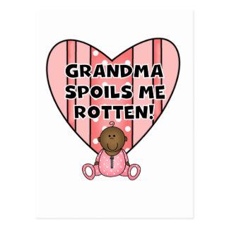 La abuela del chica del AA me estropea las Tarjetas Postales