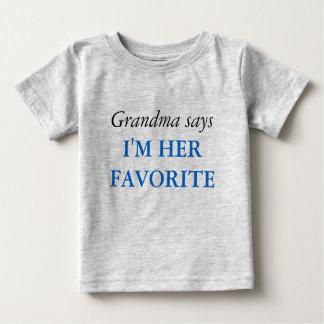 La abuela dice - la camiseta preferida playera