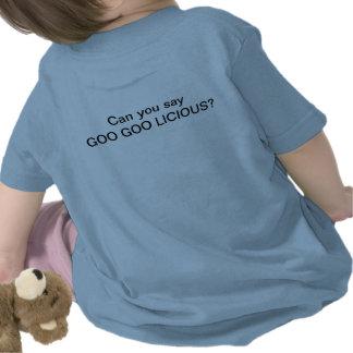 ¡La abuela dice que soy la SUSTANCIA PEGAJOSA Camisetas