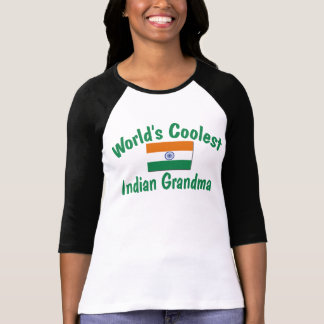 La abuela india más fresca playera