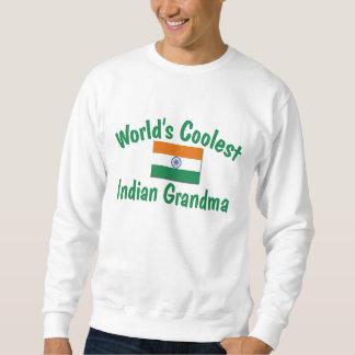 La abuela india más fresca sudadera